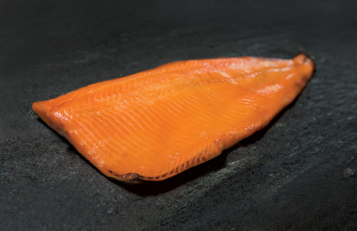 how to cook smoked salmon fillet in oven